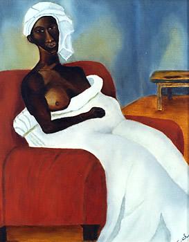 Rustige vrouw I (Mujer en reposo I)